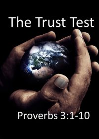 """11-4-2018 Pastor Guy """"The Trust Test"""" Proverbs 3:1-10"""