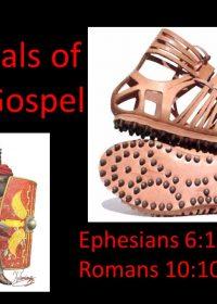 "1-27-2019 Pastor Guy ""The Sandals of the Gospel"" Ephesians 6:10-15; Romans 10:10-15"