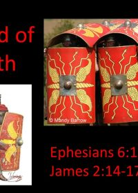 "2-3-2019 Pastor Guy Myers ""The Shield of Faith"" Ephesians 6:12-16; James 2:14-17"