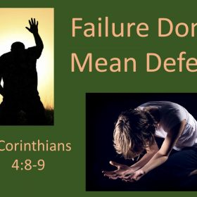 "2-10-2019 Frank Young ""Failure Don't Mean Defeat"" 2 Corinthians 4:8-9"