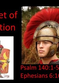"2-24-2019 Pastor Guy ""The Helmet of Salvation"" Psalm 140: 1-5; Ephesians 6:16-18"