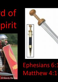 "03-04-2019 Pastor Guy Myers ""The Sword of the Spirit"" Ephesians 6:17-18; Matthew 4:1-11"